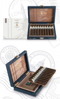 Davidoff Humidor The Traveler gefüllt Winston Churchill LIMITED EDITION 2019