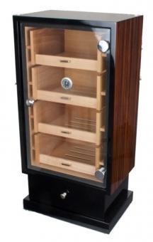 Ebony Wood Humidorschrank Pianolack