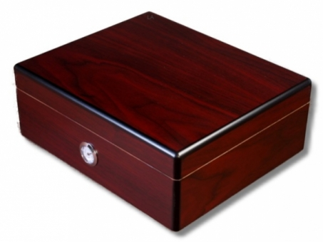 Rosewood Finish Humidor  V-250 Polymerbefeuchter